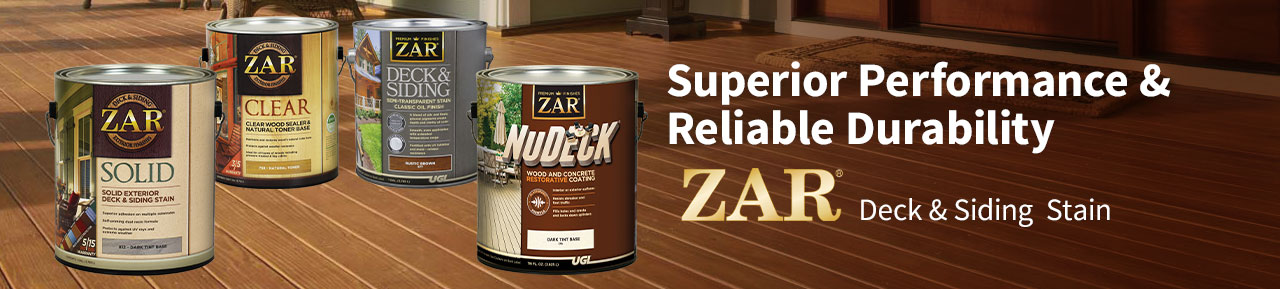 ZAR Deck and Siding Stain