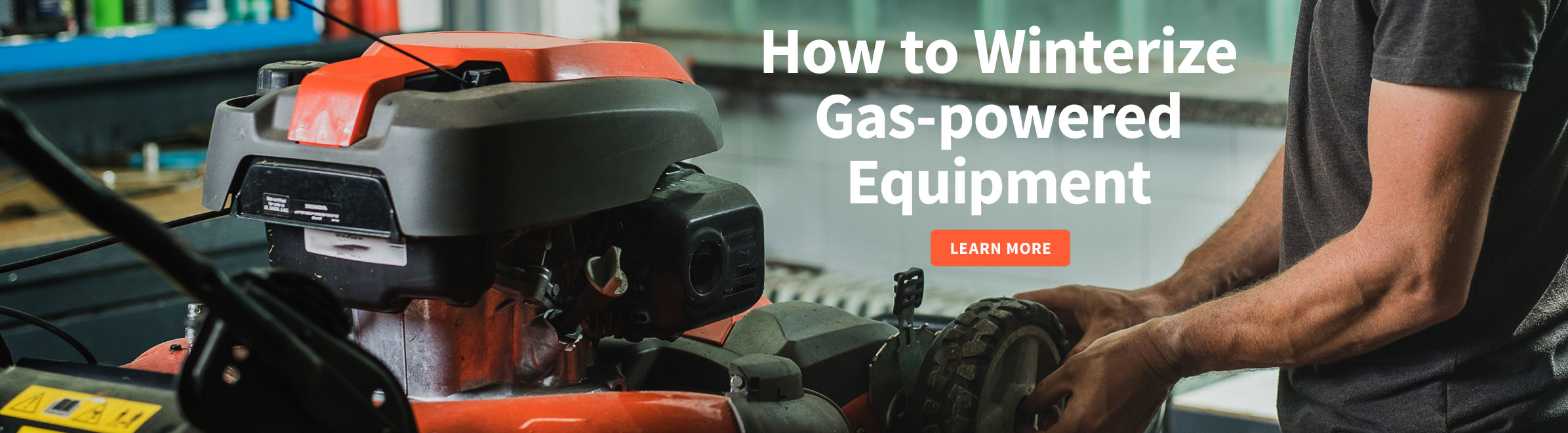 How to Winterize Gas-powered Equipment
