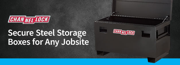 Channellock Jobsite Storage Box