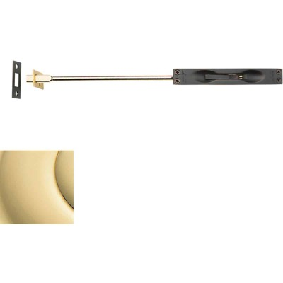 "Baldwin Estate Series Flush Bolt x 24"" Rod - Polished Brass"