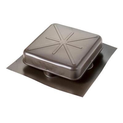 Airhawk 50 In. Brown Galvanized Steel Square Roof Vent