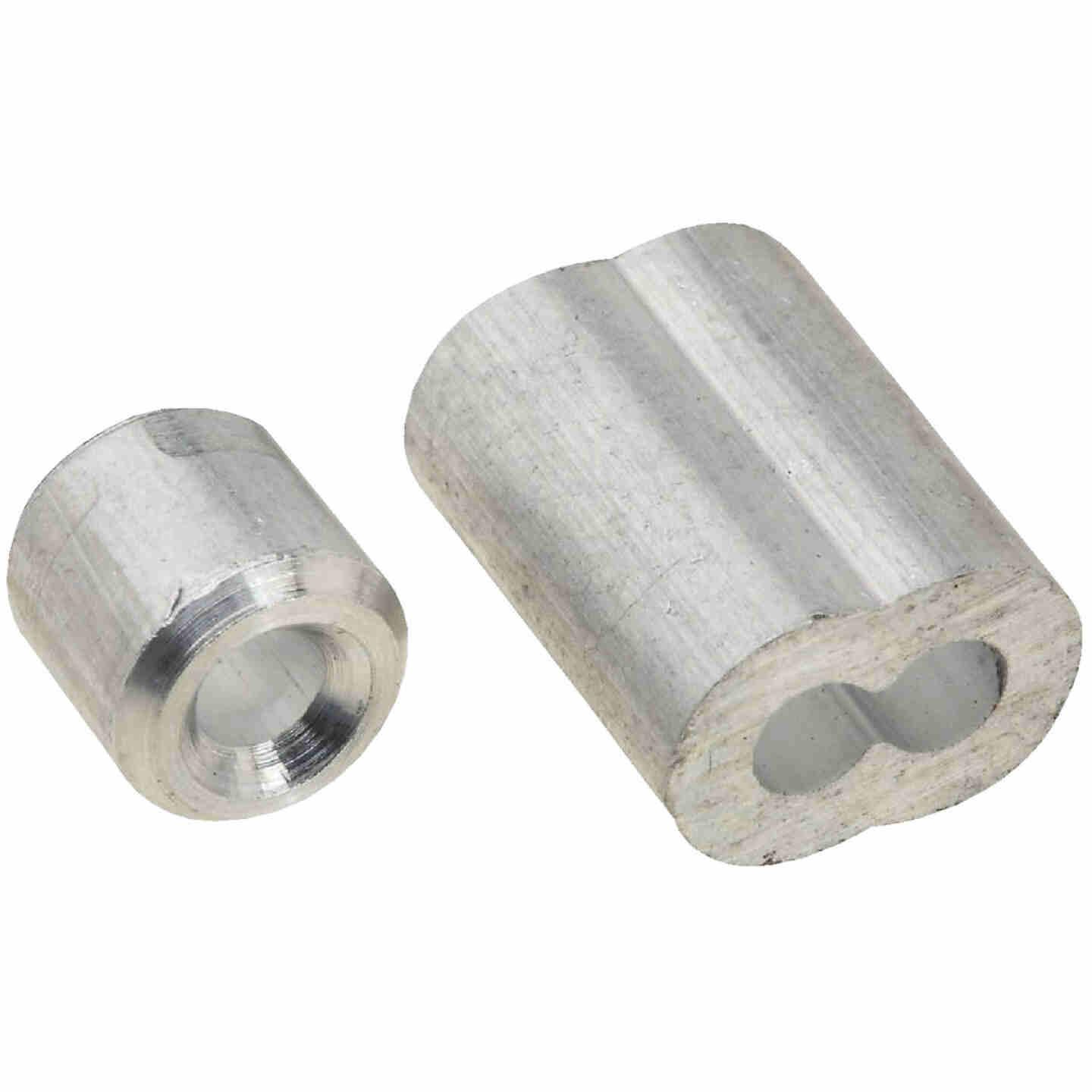 """Prime-Line Cable Ferrules and Stops, 1/8"""", Aluminum Image 1"""