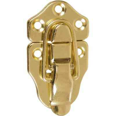 National Catalog V1848 Miniature Brass Draw Catch (2-Count)