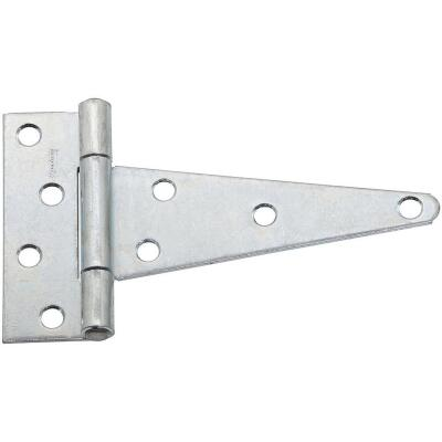 National 6 In. Zinc-Plated Steel Heavy-Duty Tee Hinge (2-Pack)