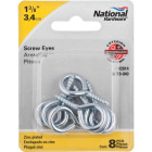 National #10 Zinc Large Screw Eye (8 Ct.) Image 2