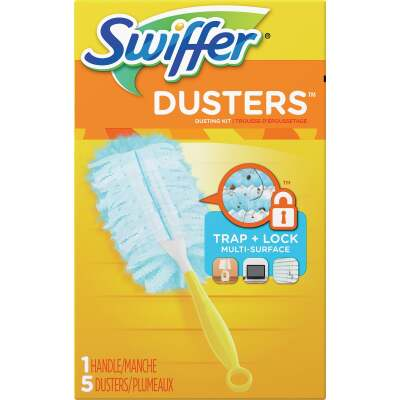 Swiffer 6 In. Handle Electrostatic Fiber Duster