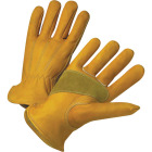 West Chester Protective Gear Men's Medium Grain Cowhide Leather Work Glove Image 1