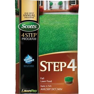 Scotts 4-Step Program Step 4 37.84 Lb. 15,000 Sq. Ft. 32-0-12 Fall Lawn Fertilizer