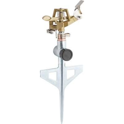 Best Garden Metal 5600 Sq. Ft. T-Spike Impulse Sprinkler