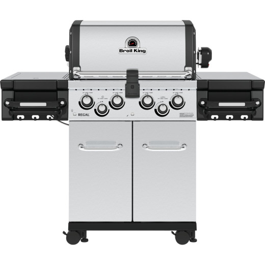 Broil King Regal S 490 Pro 4-Burner Stainless Steel 50,000 BTU LP Gas Grill